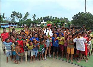 PNG Kids Kriket clinic
